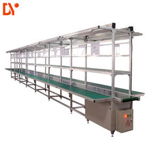 DY1128 Double Face Aluminum profile Conveyor Belt Line System ESD Assembly Line for Workshop