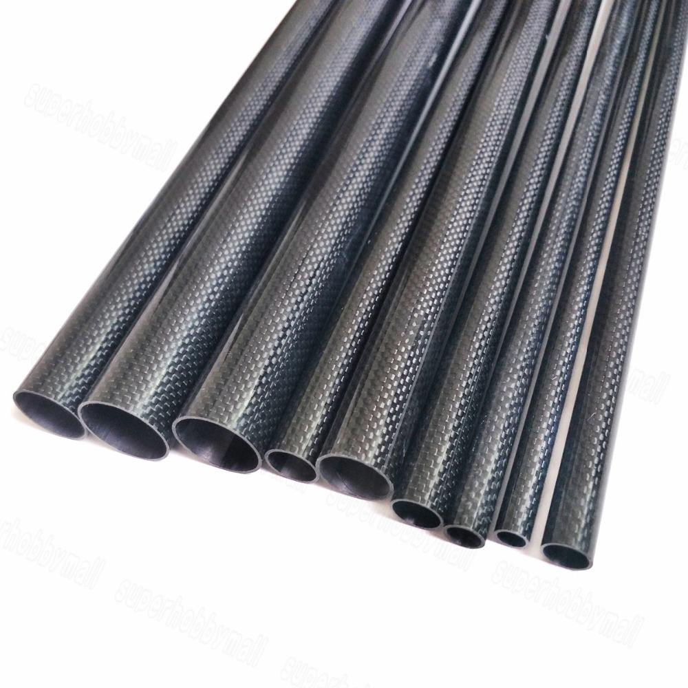 1 pcs Carbon Fiber Buis 2180*5*3mm/180*6*4mm voor 3d printer