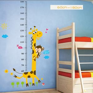 Height Chart wall sticker decoration,wall sticker kids