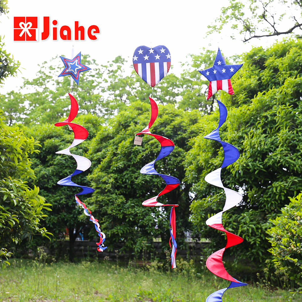 3d wholesale spiral wind spinners for garden