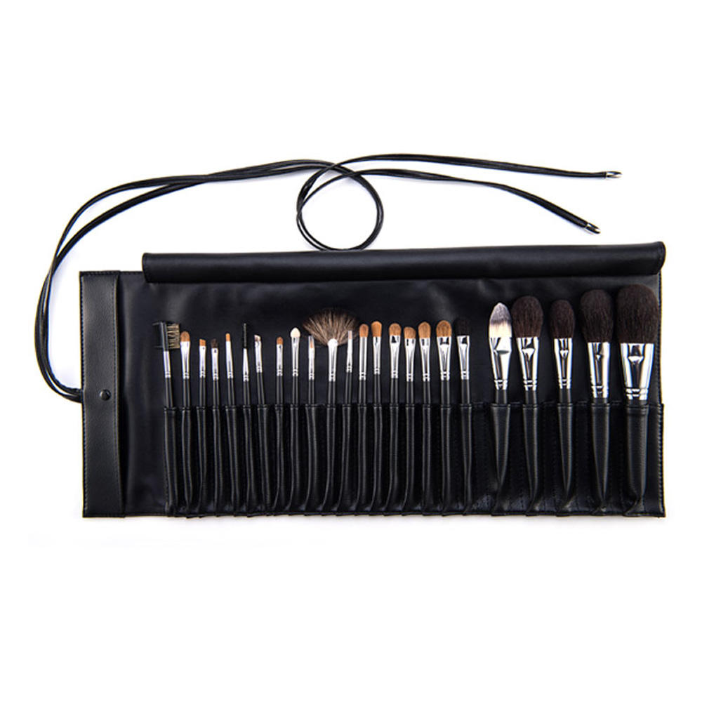 Custom professionele <span class=keywords><strong>pu</strong></span> leather make up brush set houder <span class=keywords><strong>cosmetische</strong></span> borstel opbergtas