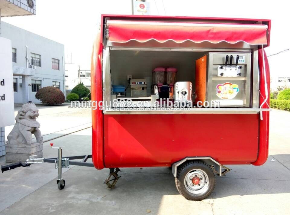 food trailer refrigerated food carts, used mobile kitchens for sale, fiberglass food trailer concession