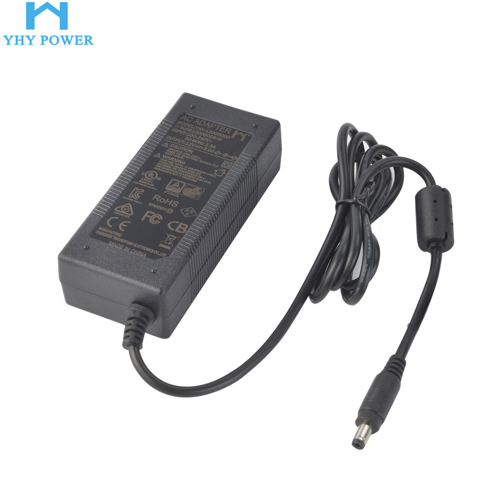 Switching Power Supply 220v 12v 5a Ac Converter 60w Amplifier 5.0a Dc 12v/5.0a Output Ac/dc Adapter For Led Tv