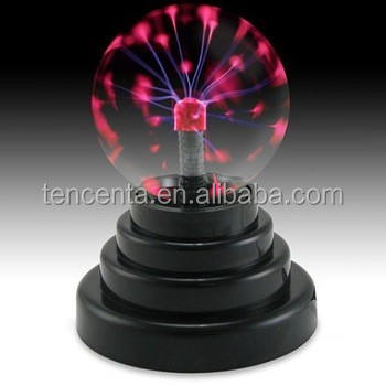 Fantasy Magic Usb Plasma Ball 3 Inch Glas Plasma Licht Met Crystal Tafellamp Voor Decoratie