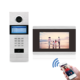 digital sip video door phone for apartment with Mobile APP unlock function