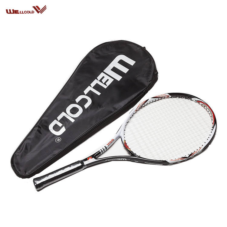 High performance manufacture tennis racket brand,super rackets of tennis with bag