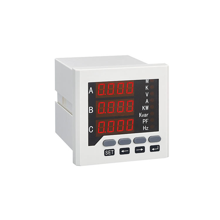 Digital Three Phase Power Quality Analyzer Data Logger Power Meter