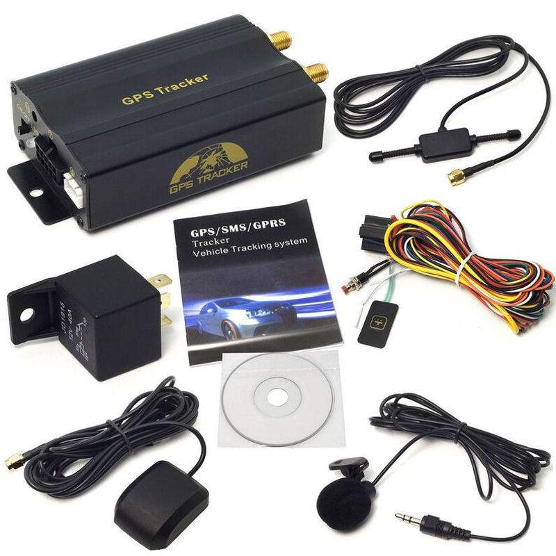 HOT mini GPS/SMS/GPRS tracker TK103A veicolo auto in tempo reale tracking system dispositivo usb bastone di gps tracker