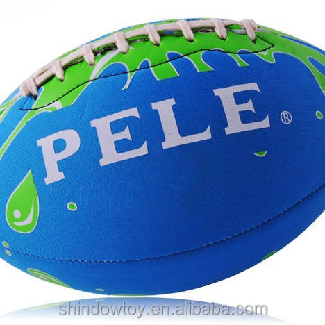 Rugby Wholesale Custom Network Explosion Rubber No. 9 American Football /promotional balls