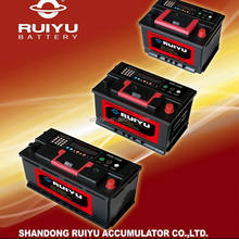 Din standard car battery auto battery with new cases 12v 62ah