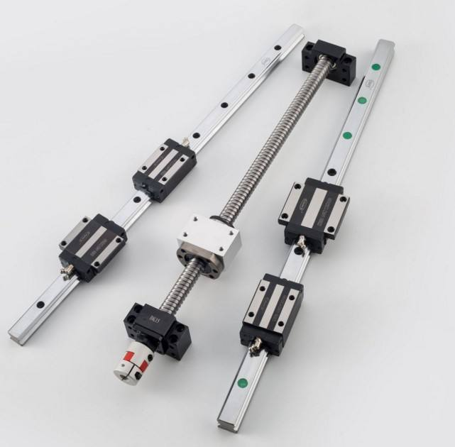 Interchangeable with HIWIN 15mm linear guide rail HGR15 and linear bearing HGH15CA