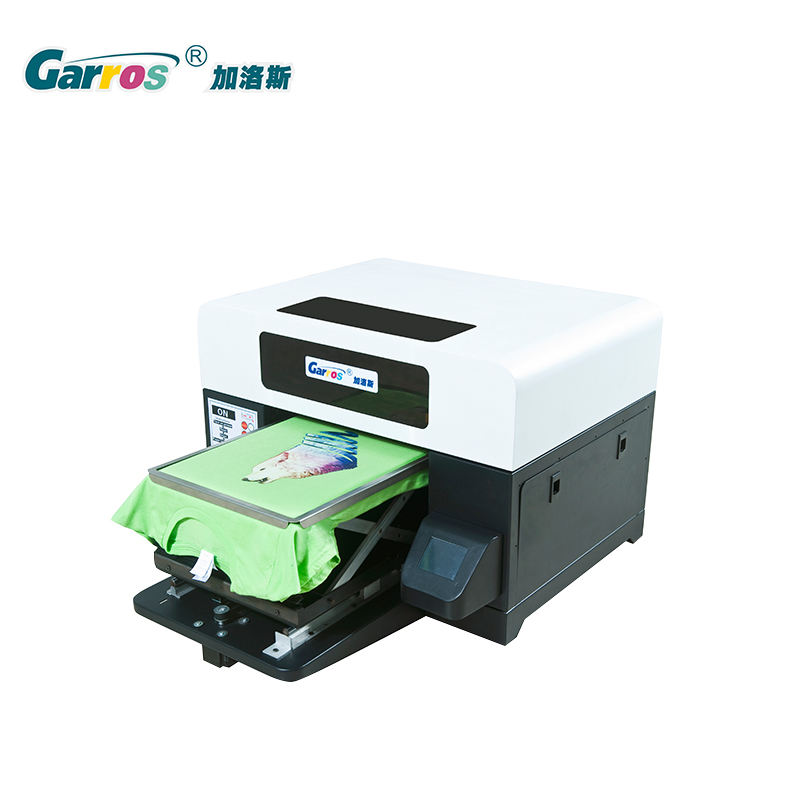 dtg A3 size digital t-shirt printer with low printing cost