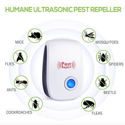 5 in 1 Ultrasonic pest control night light multifunctional pest repeller