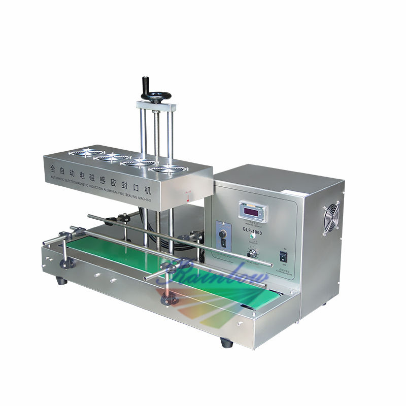 Best price continuous plastic bottle induction sealing machine
