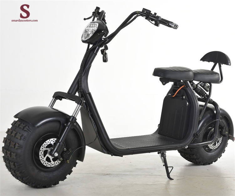 2020 cheap 1000W fat tire electric scooter citycoco scooter