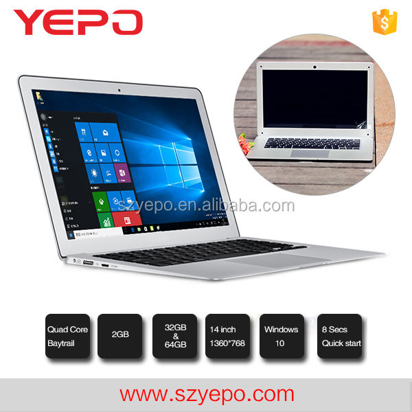 2017 Promosyon Ürün Shenzhen YEPO Apple İnce Ucuz Laptop 14 inç <span class=keywords><strong>Dizüstü</strong></span> PC için Değil Ikinci El <span class=keywords><strong>Dizüstü</strong></span>