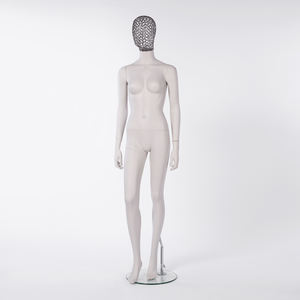 Female Mannequin with iron wire head