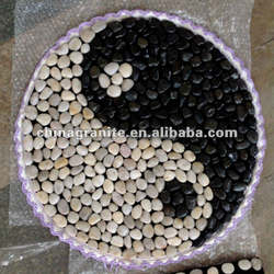 Home decoration washout river stone floor tile pebbles prices