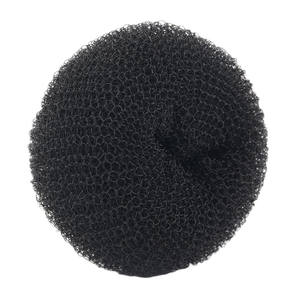 hot sale knitting large donut hair bun for ladies