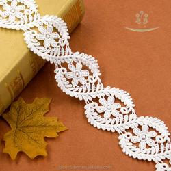 5.5cm width cloth accessories belt neck collar cuff decoration lace trim tatting lace