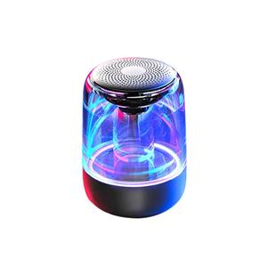 Standard version fabrik preis tragbare bunte led bluetooth wireless lautsprecher stereo neue mode tragbare bass