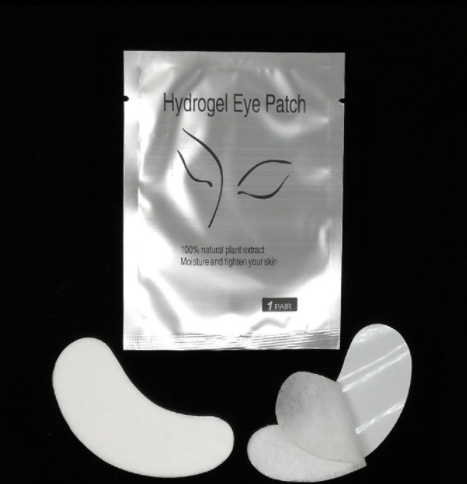 Silicone Lint Free Thin Silicone Eyelashes Lash Tool Eye Patch Pads
