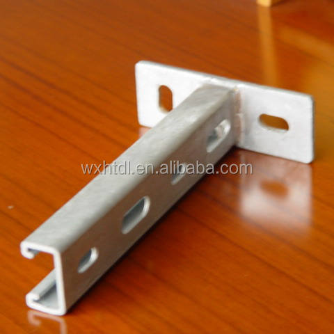 Slotted Strut cantilever arm bracket