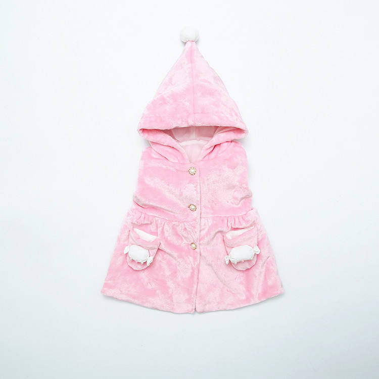 hot sale wholesale 100%cotton kids baby girls autumn vest for outdoor