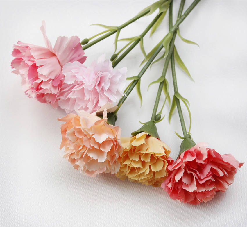 Shininglife Brand Manufacturers direct sales Mother's day carnation flowers artificial