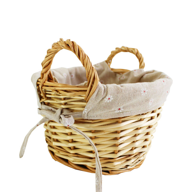 Bread Square Handle High Quality Large Wicker Storage Baskets For Sale