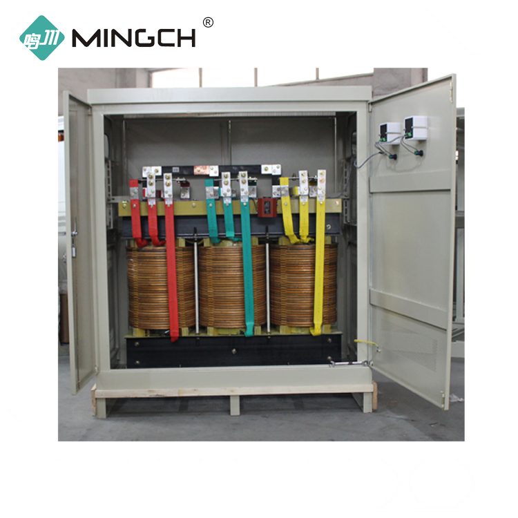 MINGCH Cheap Price SG Series 100 Kva Three Phase 100%copper wire Isolation Transformer