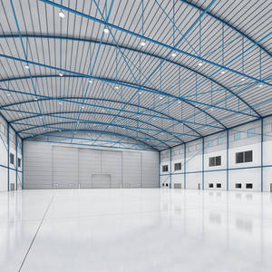 Prefabricated Steel Truss PVC Hangar