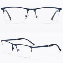Low MOQ Metal Square Business Men Eye Glasses Optical Glass Tao Bao Nylon Eyeglass Frames