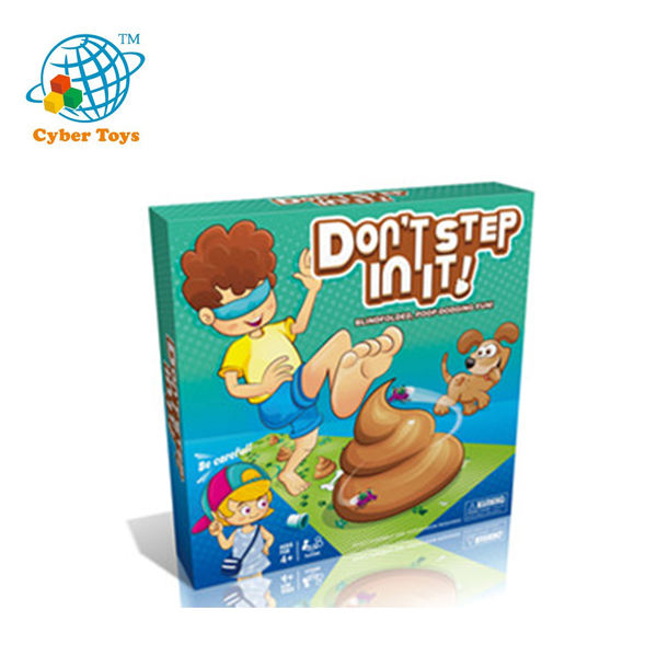 Educational Hot sale Don't Step Shit board game pieces halloween gift manufacturer board game
