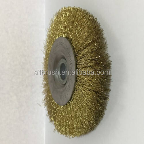 Favourite Crimped wire wheel brush for band saw machine