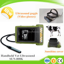 Animals ecography handheld & ultrasound scanner video glasses