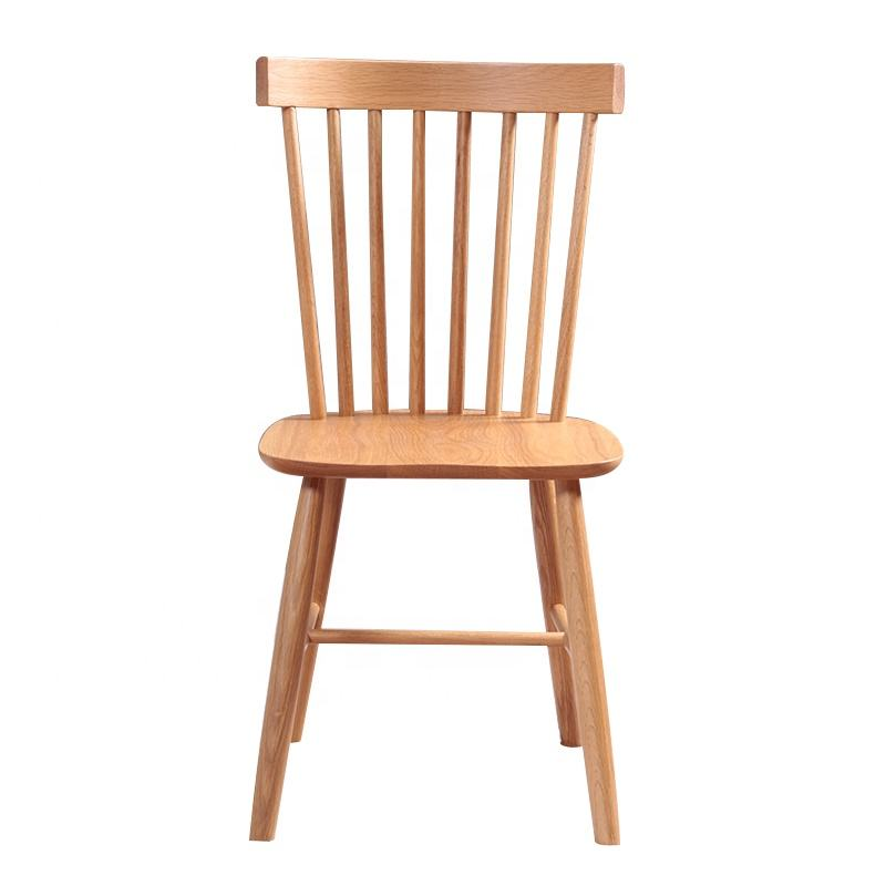 Commercial Cheap Windsor Wood Dining Cafe Restaurant Simple Chair Wooden Design Solid Ash Wooden Chair For Wedding
