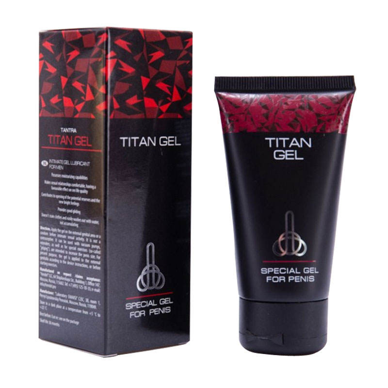 hot selling Titan gel penis enlargment cream enhance sex time adults products