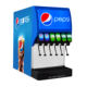 Iced Coke Post mix soda drink dispenser machine