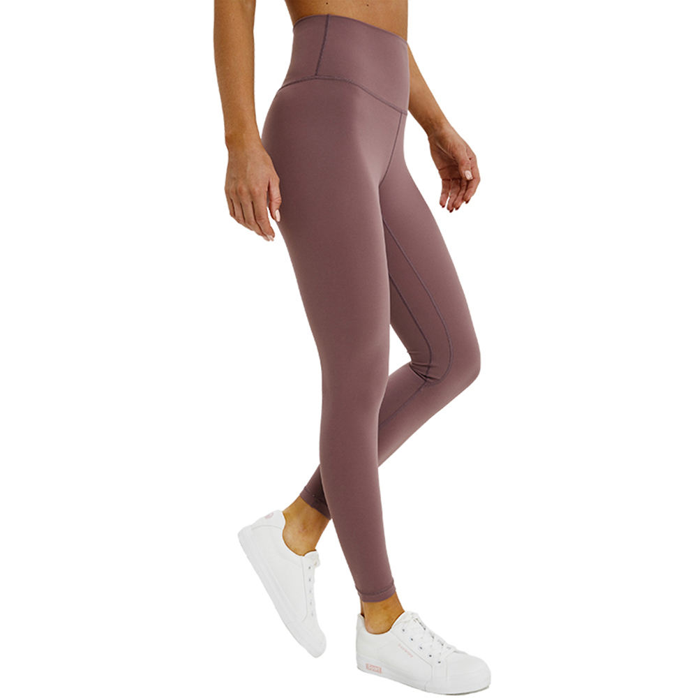 Ladies Stretchy High Waist Sports Jogging Workout Gym Yoga Leggings