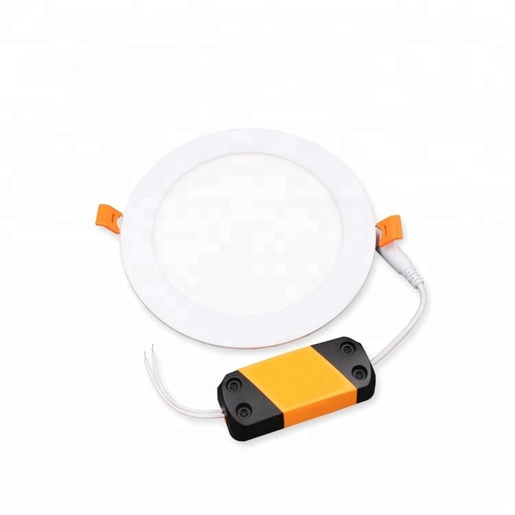 No Light Leak 18W Aluminum+Nano Guide Plate Ceiling Round Led Panel Light Ultra Silm Recessed Led Panel Light