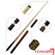 3/4 jointed pool snooker cue woods snooker cue