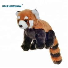 Hot Selling High Quality Plush Animal Red Panda Toy Soft Simulated Stuffed Plush Toy