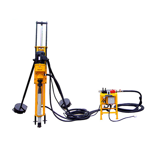 cheap price small hand earth tool electric pneumatic DTH drilling rig machine HQD70