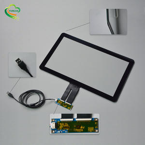 18.5 inch capacitive touch screen overlay kit capacitive touch (gorilla glass) 와 G + G structure custom available
