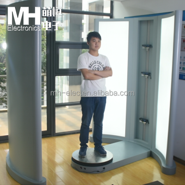 High-speed 3D Body Scanner for Measurements