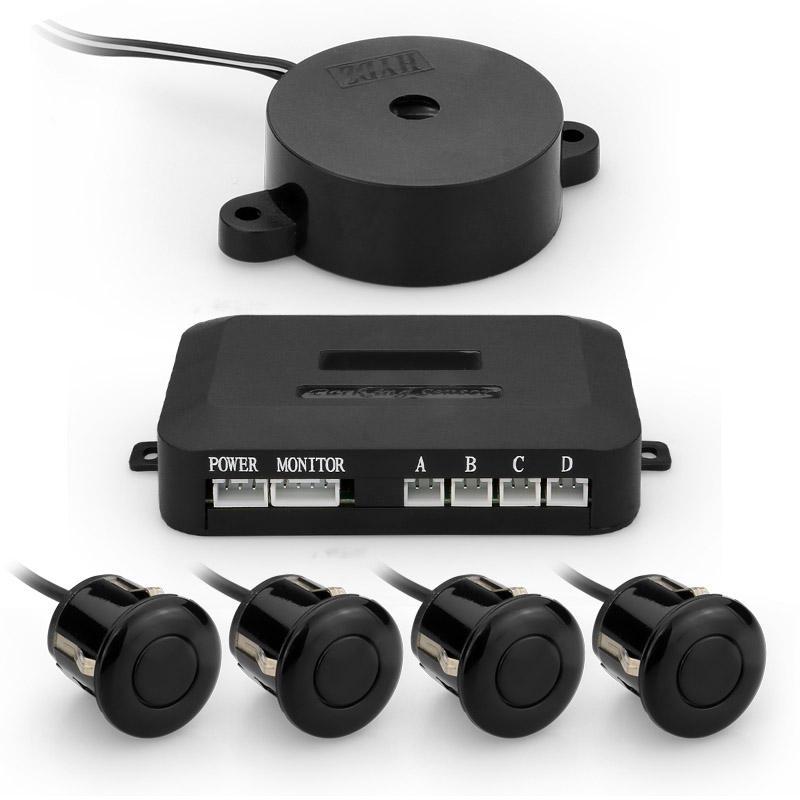 NEW Car Rear Reversing Parking Sensors 4//8 Sensors Audio Buzzer Alarm Canbus Kit