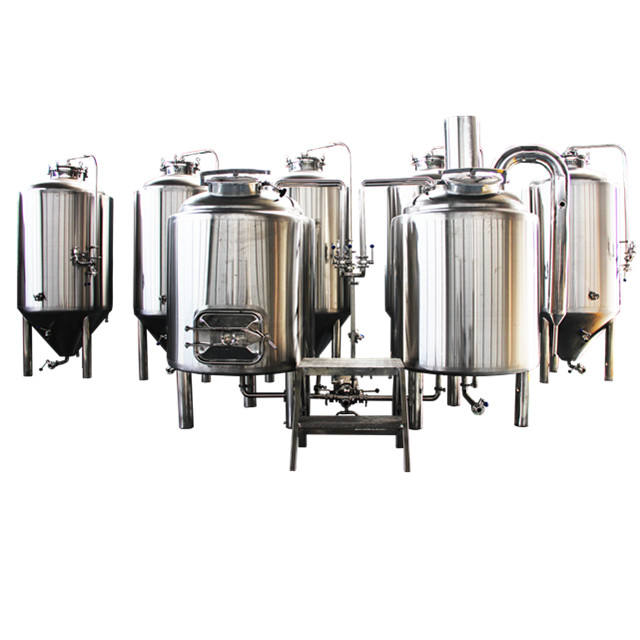 500L Commercial Beer Brewing Equipment SUS 304 Stainless Steel Conical Fermenter