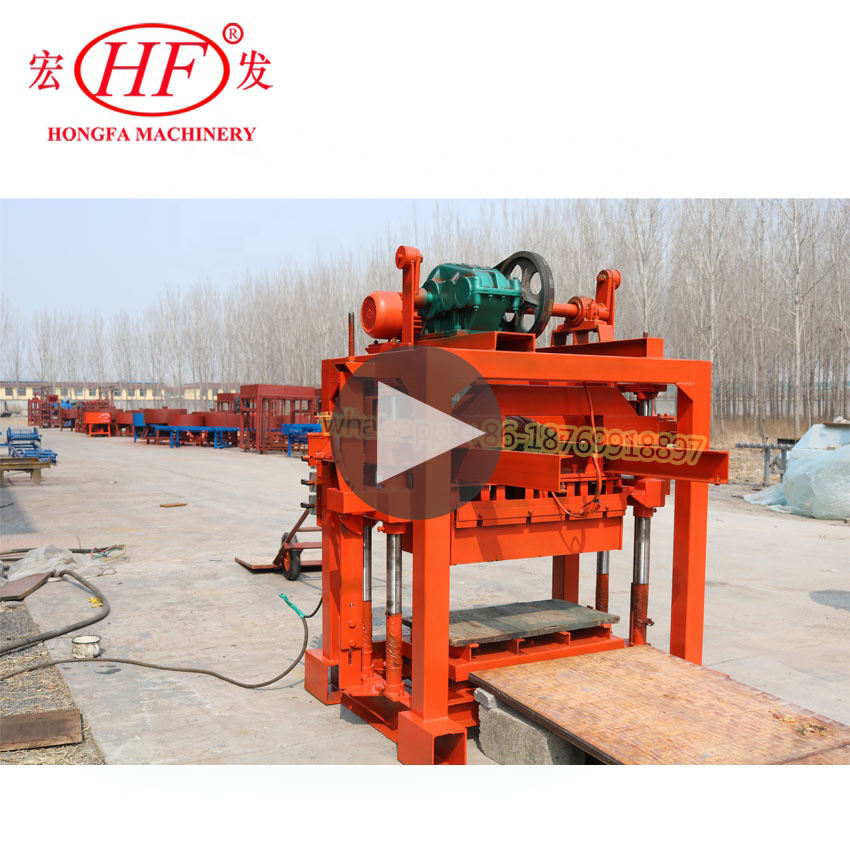 block moulding machines LS QTJ4-40 used concrete block making machine for sale