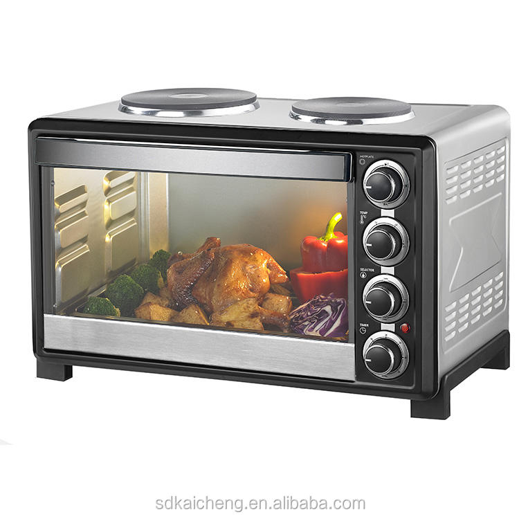 45L Electric roaster oven with hot plates CZ45DG-H